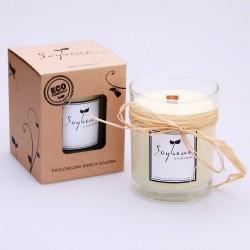 Geruchlose Kerze im Glas